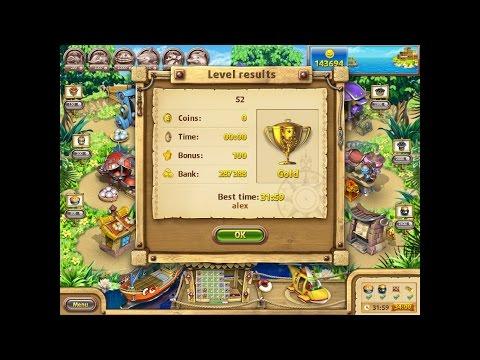 Farm Frenzy Gone Fishing Only GOLD (level 52) Веселая ферма Рыбный день (Уровень 52) Золото