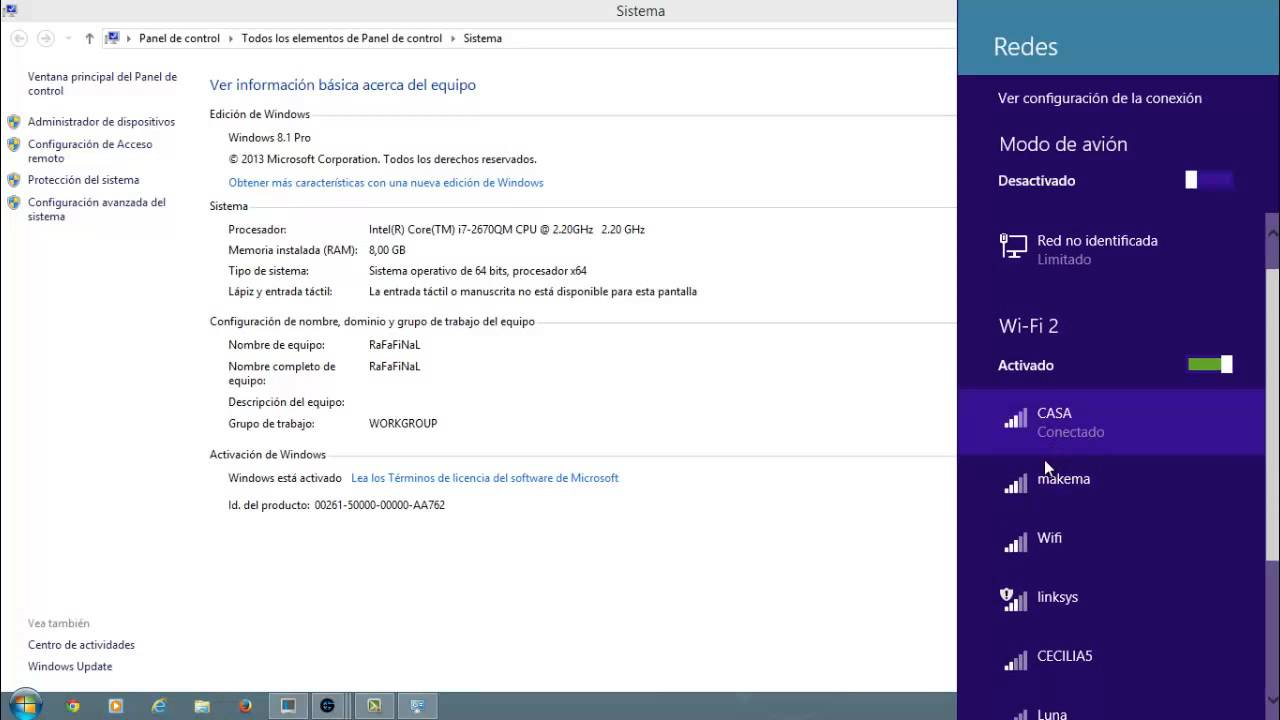how to find wifi password windows 8.1