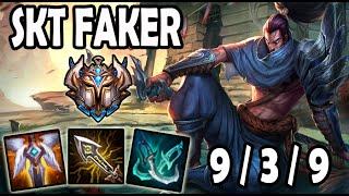 Faker YASUO vs TALIYAH [ MID ] Lol Challenger Korea