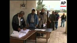 WRAP Voters register for elections, Allawi comments