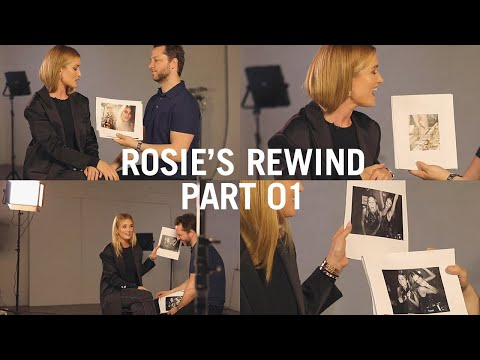 Rosie Reacts To Some Of Her Most Iconic Images With Derek Blasberg