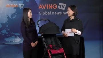 [영상] 콤비, 스포티한 3.3kg 초경량 휴대형 유모차
