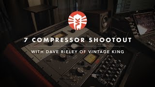 Seven Compressor Shootout With Dave Rieley of Vintage King