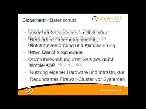 Cloud-Angebote für Reseller - simple-ASP GmbH