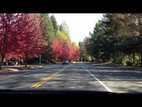 Driving around Klahanie neighborhood - Issaquah Highlands, WA