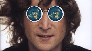 John Lennon Knew - Flat Earth [Watching The Wheels song lyrics]