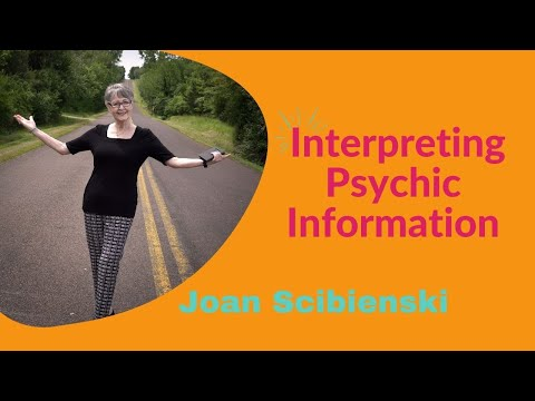 Interpreting Psychic Information