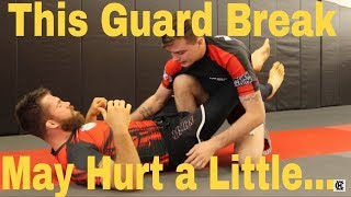 How to Frustrate and Open The Guard In BJJ (+Log Splitter Guard Break)
