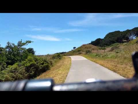 Bike Ride New Plymouth Coastal Walkway