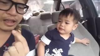 Sampai muntah anak dia, buat perangai betul bapak dia ni