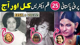25 Pakistani famous actresses Then and Now 2019
