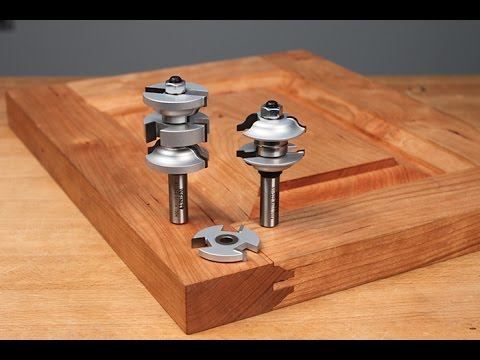 Infinity Cutting Tools Interior Exterior Door Making Router Bit Sets