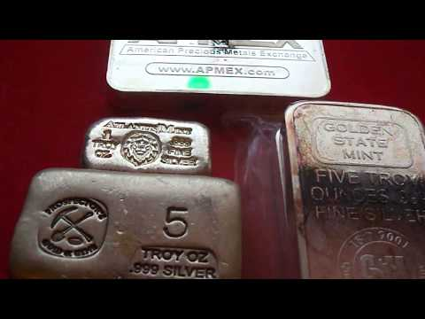 Precious metals 2017,  investing in silver bars, buy gold and silver, buy silver bullion