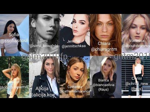 GNTM 2019 Top 50 Models: Erste Fotos | Geheime Infos