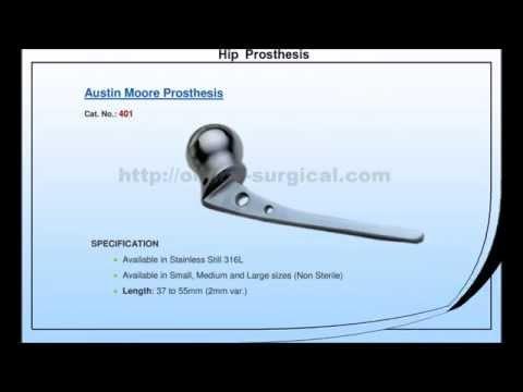Orthopedic Implants video Catalog