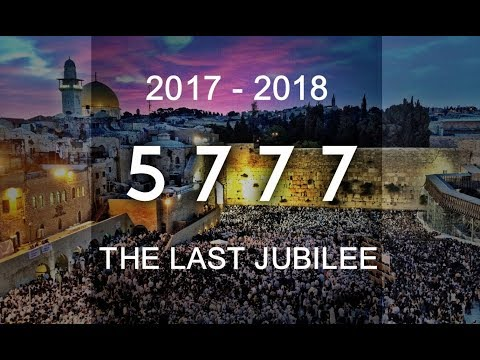 Proof that we are still in the Jubilee Year 5777 (2017-2018)