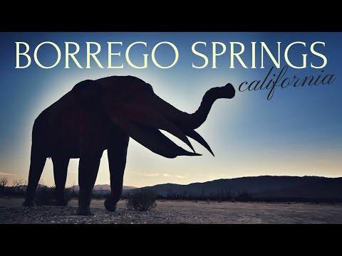 Exploring Borrego Springs, California 🏜😻 Anza Borrego State Park & Desert Sculpture Garden