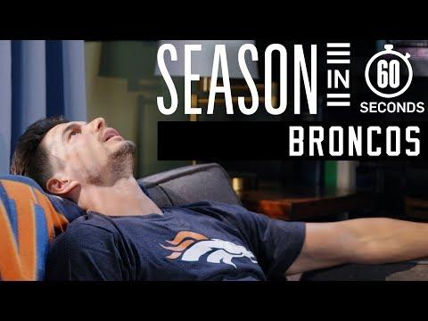 Denver Broncos Fan | Season in 60 Seconds