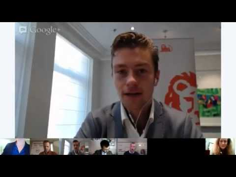 TEDx Amsterdam Google+ Hangout On Air: Social entrepreneurs, sustainable and commercial successful