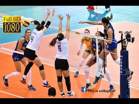 Thailand vs Brazil   6 July 2016   Final Round   2016 FIVB Volleyball World Grand Prix