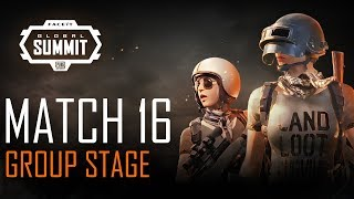 FACEIT Global Summit - Day 3 - Group Stage - Match 16 (PUBG Classic)