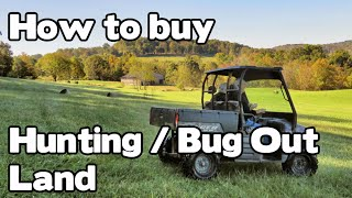 Renfro Valley Kentucky farm for sale, perfect for hunting land, recreational land, standing timber