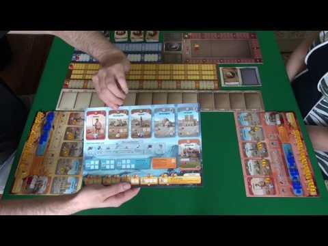 Сквозь Века. Новая История Цивилизации 1/3 часть - играем в настольную игру.