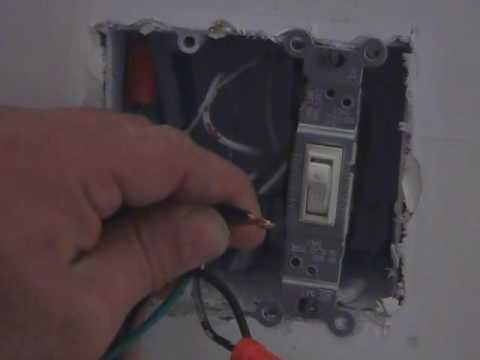 Changing Light Switch To Dimmer: ,Lighting