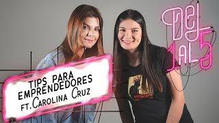 Carolina Cruz da cinco consejos para emprender - El Espectador