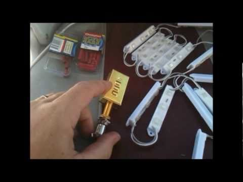 how to install led lights on a boat youtube rh youtube com wiring led lights to boat boat led strip lights wiring examples