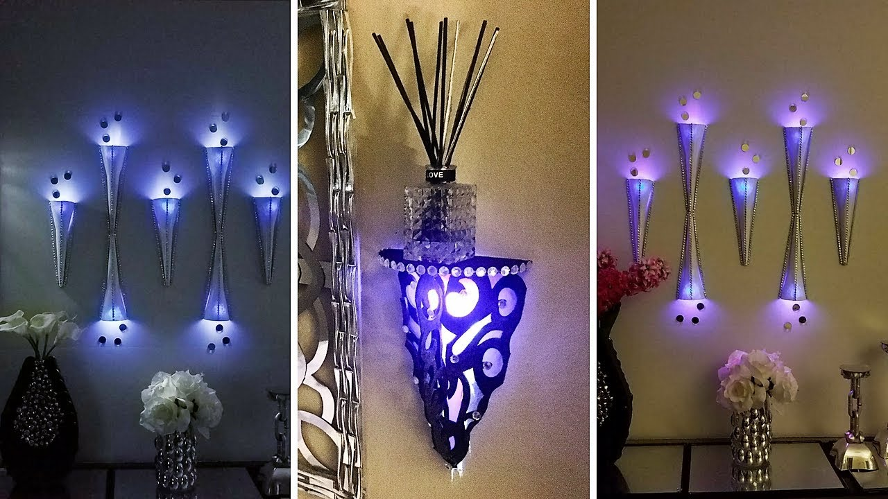 Diy Modern Wall Decor Lighting Large Wall Covering In 5