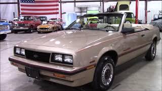 1986 Chevy Cavalier