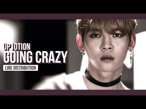 UP10TION - Going Crazy Line Distribution (Color Coded) | 업텐션 - 미치게 해