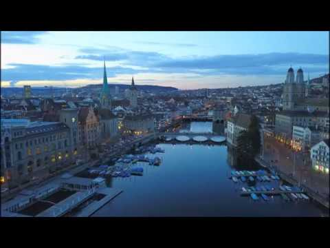 ZÜRICH FROM THE SKY (HD)