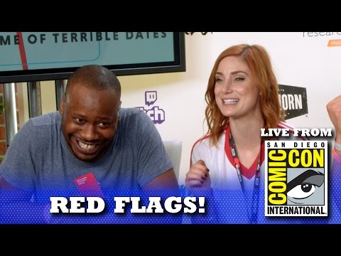 RED FLAGS W/ MALCOLM BARRETT & PHIL DEFRANCO! | SAN DIEGO COMIC CON 2016 LIVE SHOW!