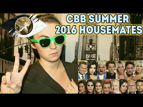 Celebrity Big Brother 2016 (Summer) | The Housemates