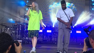 billie eilish | lovely (with khalid) - lollapalooza 2018
