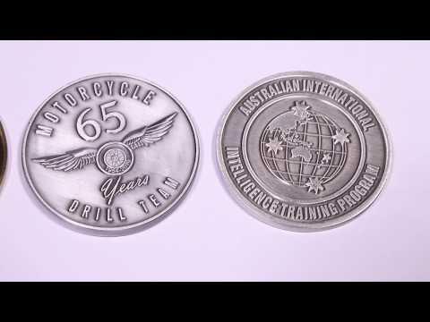 Custom Crafts Supplier of cool custom coins diy metal coins challenge souvenir coins