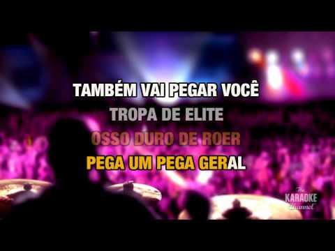 Tropa de Elite in the style of Tihuana   Karaoke with Lyrics