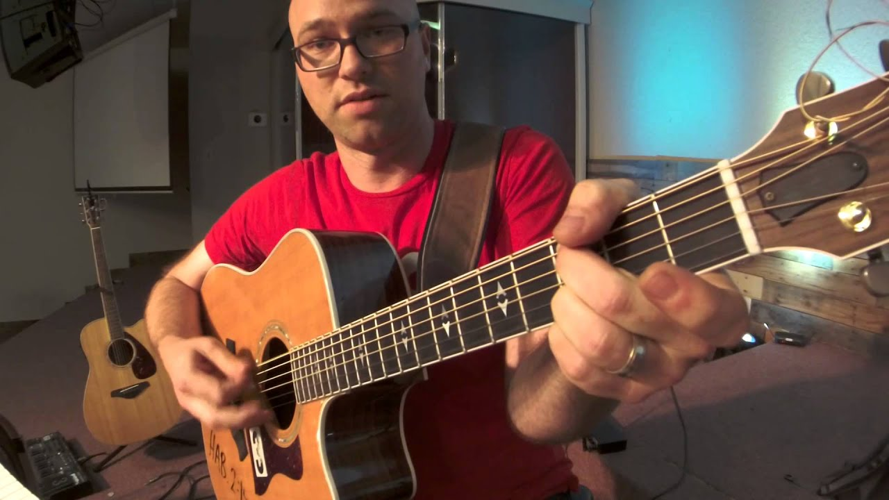 Power Chords No3 For Acoustic Guitar Youtube