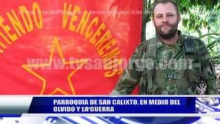 PARROQUIA DE SAN CALIXTO, EN MEDIO DEL OLVIDO Y LA GUERRA