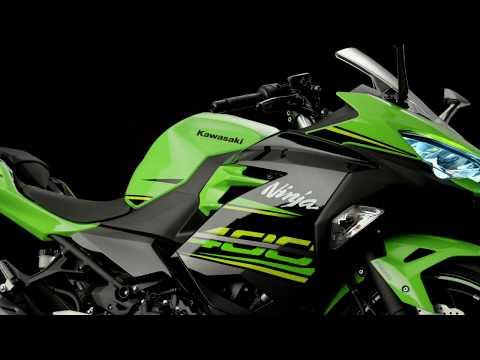 Kawasaki Ninja 400 Studio Video