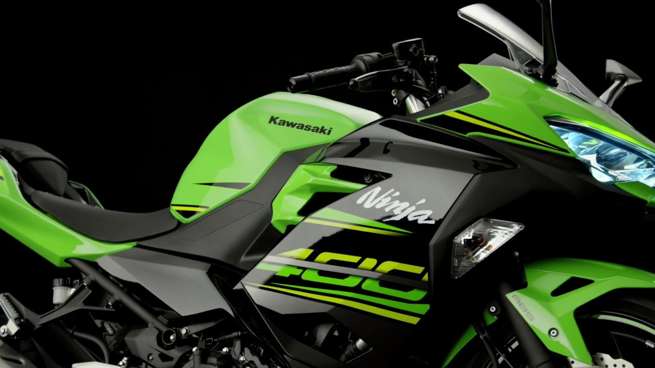 Kawasaki Ninja 400 Studio Video Youtube