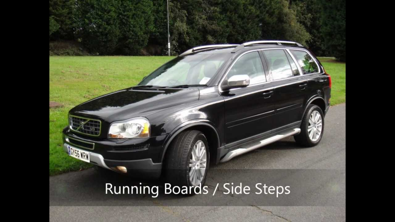 volvo xc90 311bhp v8 exec auto nav dvd gy56wrw for sale youtube. Black Bedroom Furniture Sets. Home Design Ideas