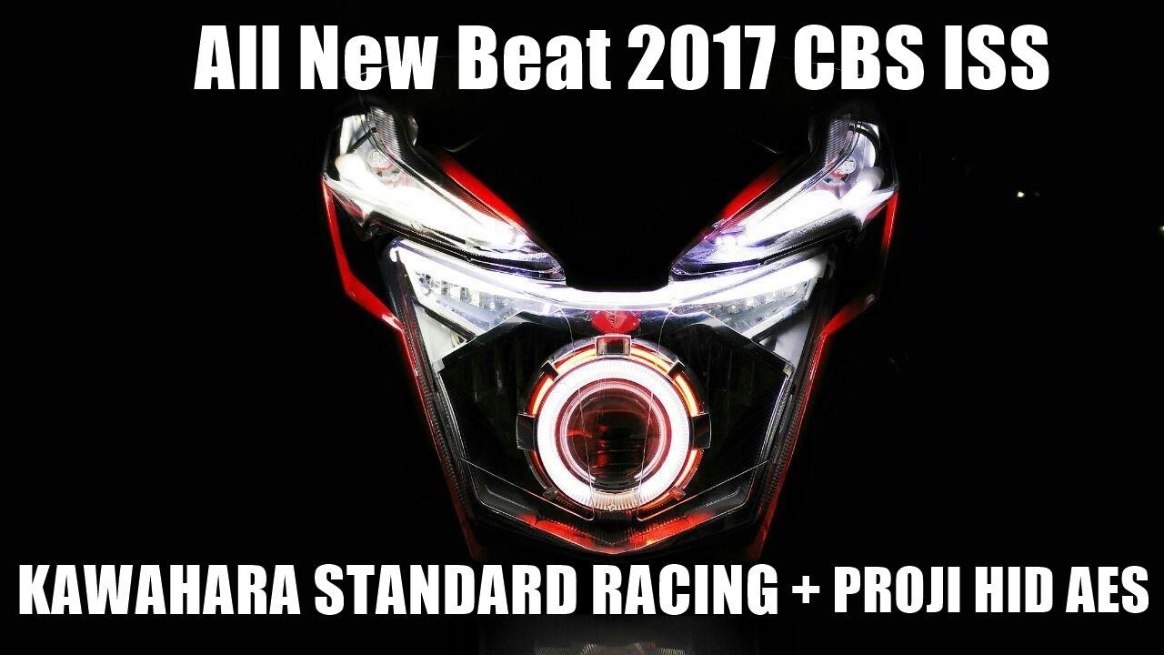 Honda All New Beat 2017 Cbs Iss Kawahara Std Racing Proji Hid Aes Cover Tameng Tutup Knalpot 2016 Street