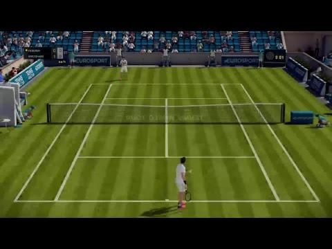 Tennis World Tour - Online Season - PS4 PRO GAMEPLAY