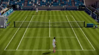 Tennis World Tour - Online Season - PS4 PRO GAMEPLAY