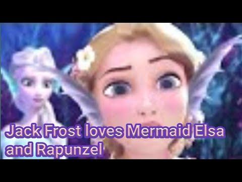 jack-frost-loves-mermaid-elsa-and-rapunzel