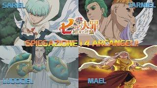 Download lagu Spiegazione dei 4 Arcangeli   Ludociel   Sariel   Tarmiel   Mael   Nanatsu no Taizai   ITA