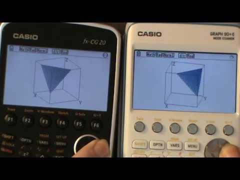 fx cg20 graph 90 e french fx cg50 3d performances comparison youtube. Black Bedroom Furniture Sets. Home Design Ideas